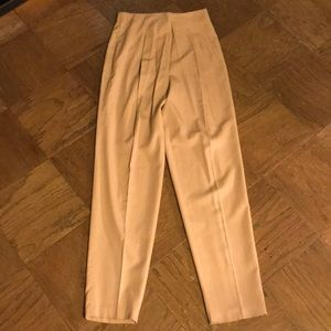 High Quality Camel Trousers